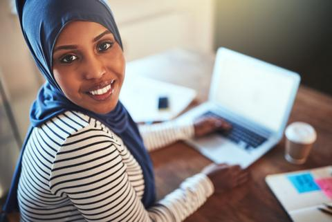 Minority Recruitment Agency in London. BAME talent. Workplace diversity. Outsourcing. Somali woman